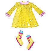 Lalaloopsy Fashion Yellow Raincoat Outfit