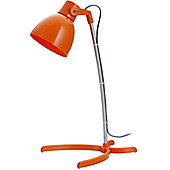 Faro Heidi 1 Light Reading Lamp - Orange