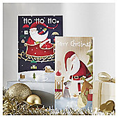 Tesco Santa And Co Tall Christmas Cards, 20 Pack
