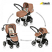 Hauck Lacrosse Shop'N Drive Travel System - Toast