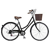 Dawes Duchess Black 17 Inch Traditional Style Bike