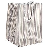 Tesco Natural Core Stripe Laundry Bag