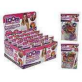 Friendship Loom Bands Set - 300 Bands - 12 S Clasps - 1 Hook