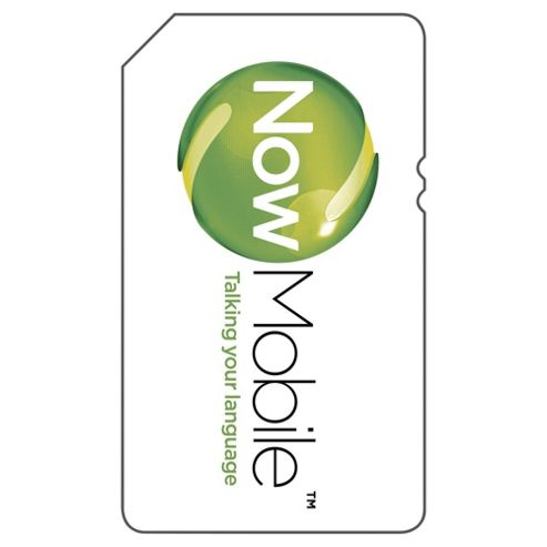 Now Mobile Pay as you go SIM Pack