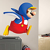 Super Mario Bros. Mario Penguin Nintendo Wii Wall Stickers