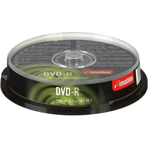 Imation 16x 4.7 GB DVD-R 10 Pack