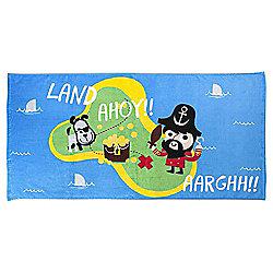 Tesco Pirate Beach Towel