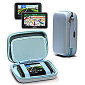 Navitech Hard Carry Case Blue For The TomTom Start 50