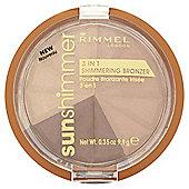 Rimmel 3 In 1 Shimmering Brnzrbronze Goddess