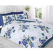 Rapport Art Madeleine King Quilt Set Teal