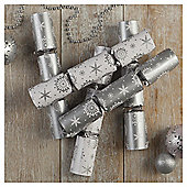 Tesco Silver Snowflake Cube Crackers, 12 Pack