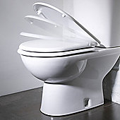 Tavistock Micra Soft Close Toilet Seat in White