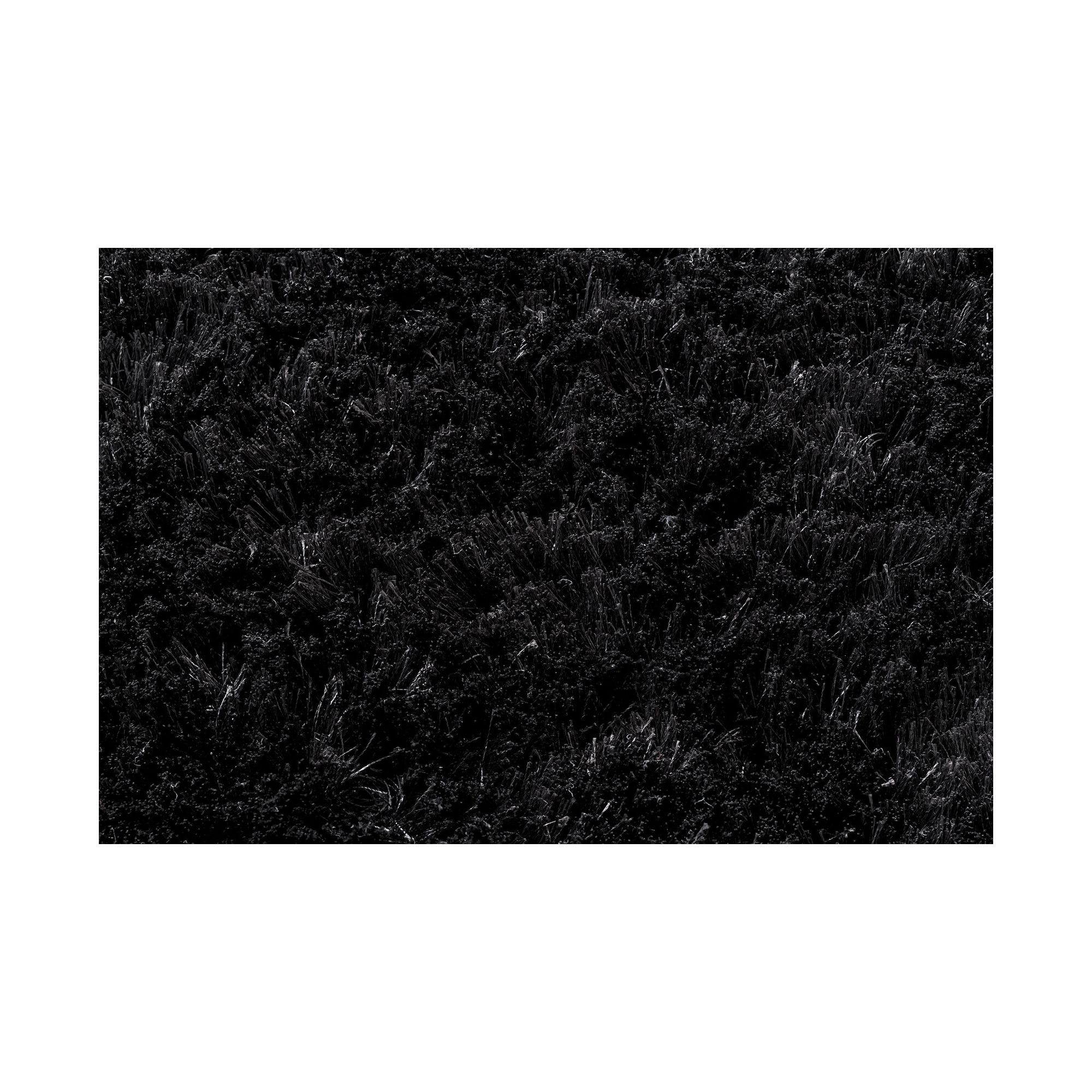 Linie Design Mantova Black Shag Rug - 300cm x 200cm at Tesco Direct