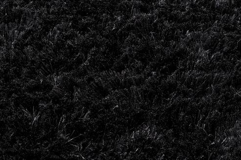 Linie Design Mantova Black Shag Rug - 300cm x 200cm