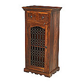 Maharajah Indian Rosewood 2 Drawer Hi-Fi Cabinet