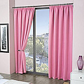 Pink Thermal Blackout Curtains 54s