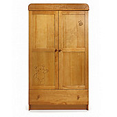 Obaby B is for Bear Double Wardrobe - Country Pine