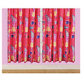 Peppa Pig Curtains W168xL137cm (66x54'')