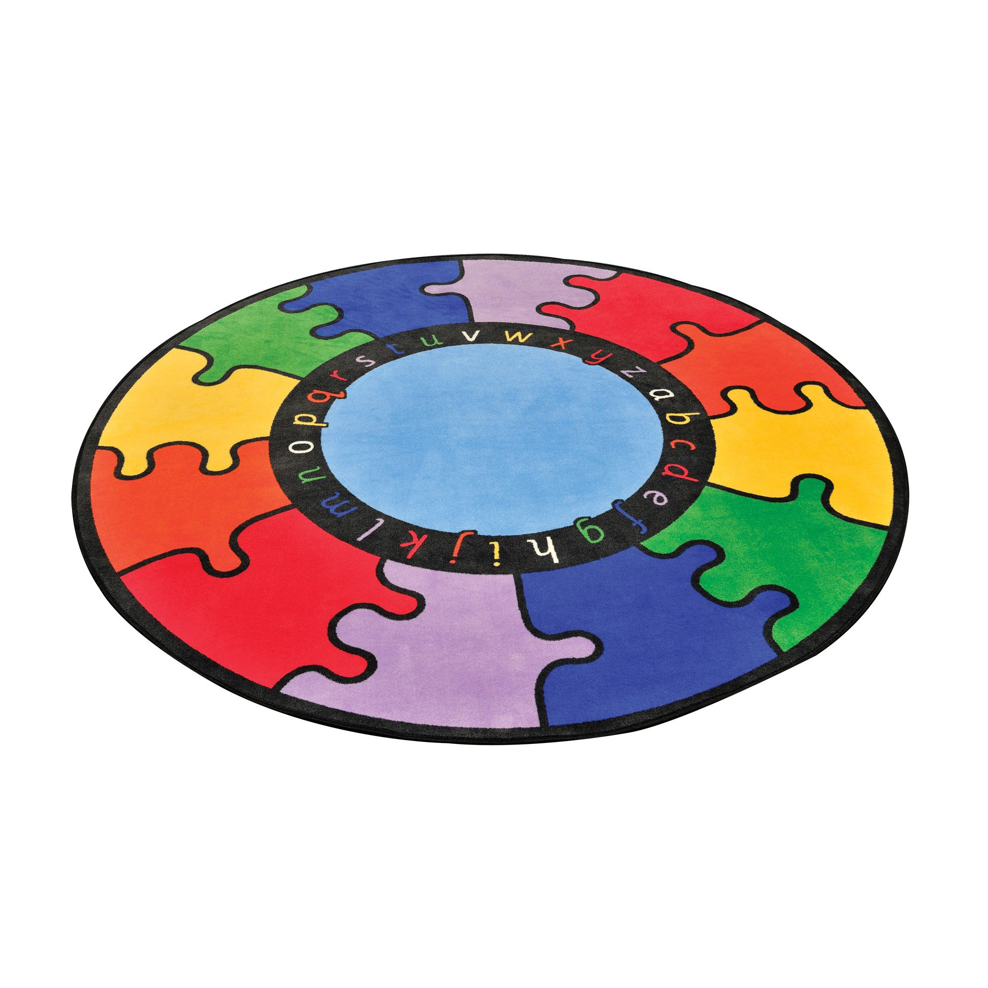 Liberty House Toys ABC Rainbow Puzzle Rug at Tesco Direct