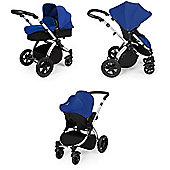 ickle bubba Stomp V2 3-in-1 Travel System (Blue)