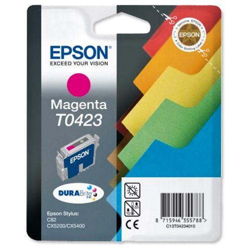 Epson Singlepack Magenta T0423