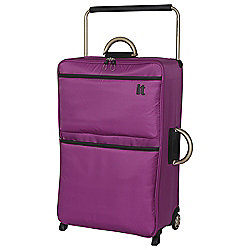 IT Luggage World's Lightest 2-Wheel Suitcase, Dahlia Mauve Large