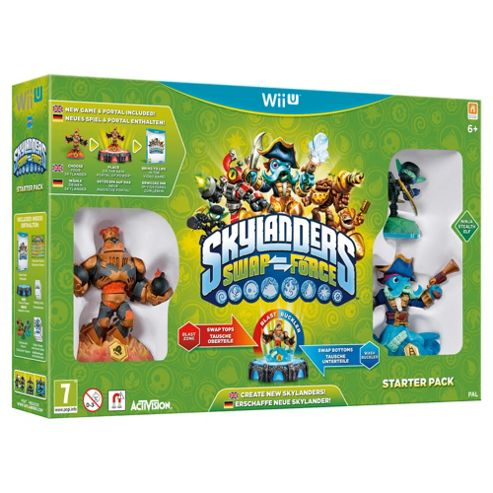 Skylanders Swap Force - Starter Pack - Wii U