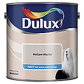 Dulux Matt Emulsion Paint, Mellow Mocha, 2.5L