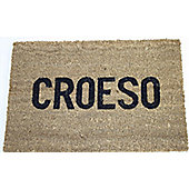 Dandy Croeso Message Doormat - 60cm x 40cm