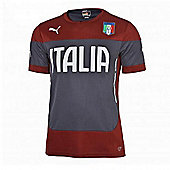 2014-15 Italy Puma Training Shirt (Red) - Kids - Red