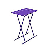 Multi-Purpose Table & Stool Set Purple