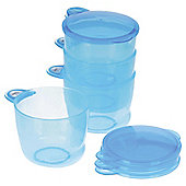 VITAL BABY FOOD POTS BLUE X 4