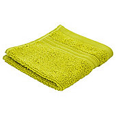 Tesco Hygro 100% Cotton Face Cloth, Citrus