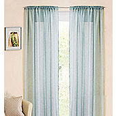 Casablanca Rod Pocket Voile Panel - Blue