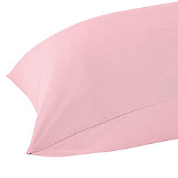 Homescapes Pink Egyptian Cotton Housewife Pillow Case 200 TC