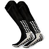 Trusox Full Length Football Sock - Black