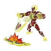 Ben 10 Omniverse Galatic Monsters 15cm Heatblast Inferno Figure