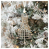 Wire Dress Christmas Tree Decoration