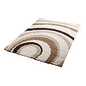 Oriental Carpets & Rugs Majesty Ivory/Light Beige Rug - 150cm L x 80cm W