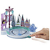 Frozen Ice Skating Rink And Elsa Doll