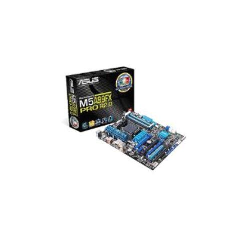 Asus M5A99FX PRO R2.0 Motherboard Phenom/ Athlon/ Sempron AMD AM3+ 990FX/SB950 ATX Gigabit LAN