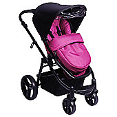 Red Kite Push Me Zebu Pushchair, Loganberry