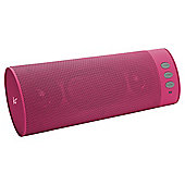 KitSound Boombar Bluetooth Speaker, Pink (Cancer Research UK Support)