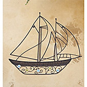 Billowing Sails Wall Art - set of 2