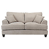 Hampton Small 2 Seater Fabric Sofa, Light Grey