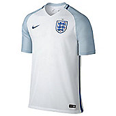 Nike England Mens Football Replica Home Euro 2016 Jersey - White