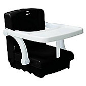 Kids Kit Hi-Seat Booster portable dining seat - BLACK