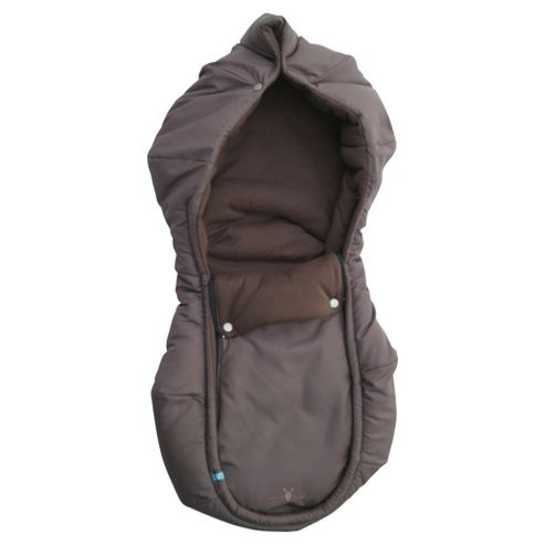 Wallaboo Arctic Footmuff, Chocolate
