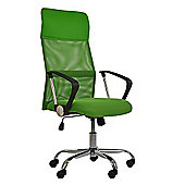 Como Green Mesh Office Chair