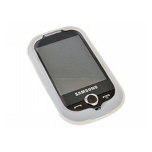 iTALKonline Silicone Case White - For Samsung S3650 Genio